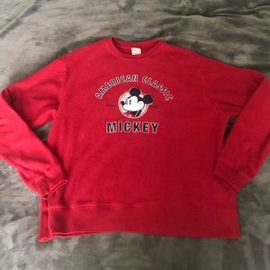 American classic Mickey Mouse sweater *NWOT